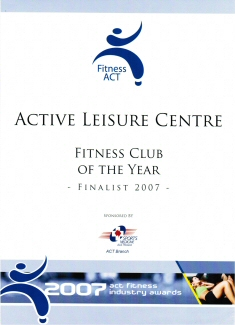 Fitness Club of the Year 2007
